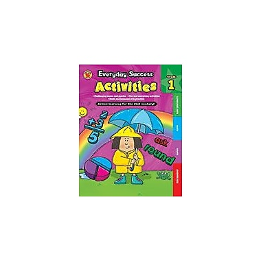 Carson-Dellosa Publishing Everyday Success Activities First Grade Workbook By Brighter Child, Grade 1 [eBook]