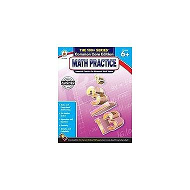 Carson-Dellosa Publishing Math Practice, Grades 6 - 8 Workbook, Grade 6 - Grade 8 [eBook]
