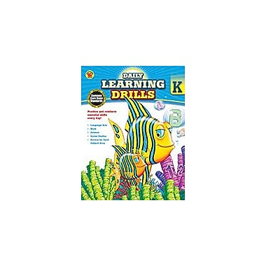 Carson-Dellosa Publishing Daily Learning Drills, Grade K Workbook By Brighter Child, Kindergarten [eBook]