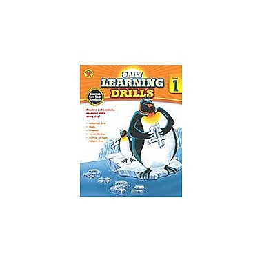 Carson-Dellosa Publishing Daily Learning Drills, Grade 1 Workbook By Brighter Child, Grade 1 [eBook]