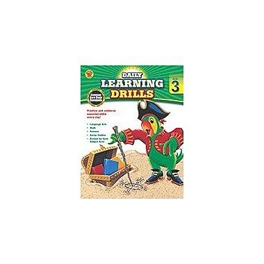 Carson-Dellosa Publishing Daily Learning Drills, Grade 3 Workbook By Brighter Child, Grade 3 [eBook]