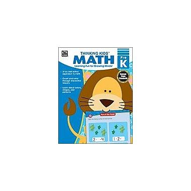 Carson-Dellosa Publishing Thinking Kids Math , Prekindergarten Workbook By Brighter Child, Preschool [eBook]