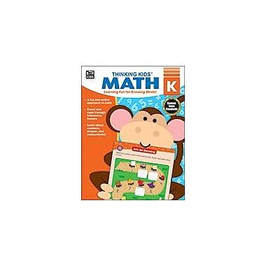 Carson-Dellosa Publishing Thinking Kids Math , Kindergarten Workbook By Brighter Child, Kindergarten [eBook]