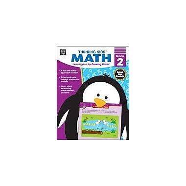 Carson-Dellosa Publishing Thinking Kids Math , Grade 2 Workbook By Brighter Child, Grade 2 [eBook]