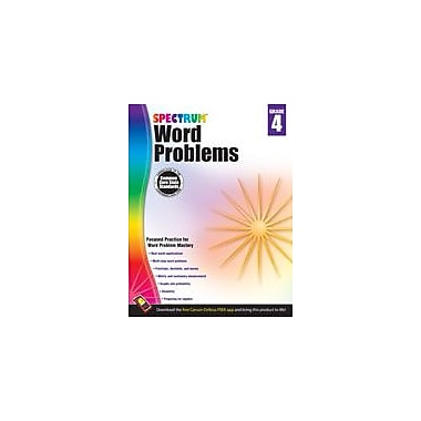 Carson-Dellosa Publishing Word Problems, Grade 4 Workbook [eBook]