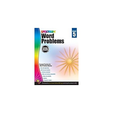 Carson-Dellosa Publishing Word Problems, Grade 5 Workbook [eBook]