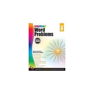 Carson-Dellosa Publishing Word Problems, Grade 8 Workbook [eBook]