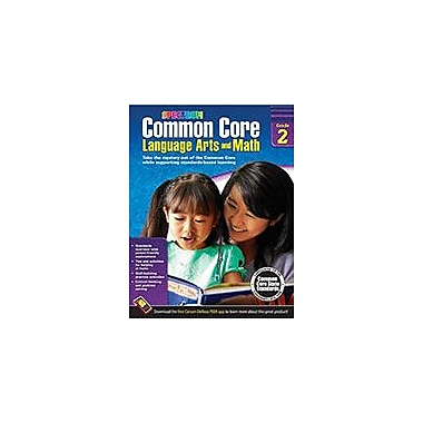 Carson-Dellosa Publishing Common Core Language Arts And Math, Grade 2 Workbook [eBook]
