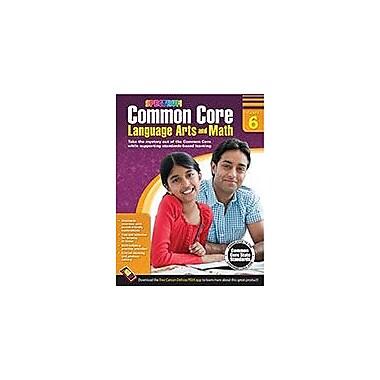 Carson-Dellosa Publishing Common Core Language Arts And Math, Grade 6 Workbook [eBook]