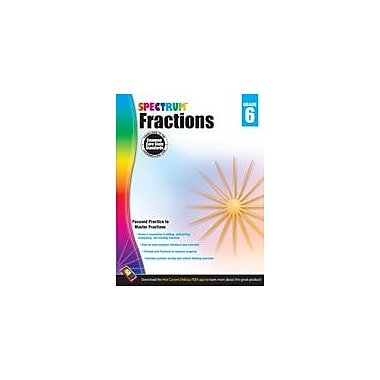 Carson-Dellosa Publishing Fractions, Grade 6 Workbook [eBook]