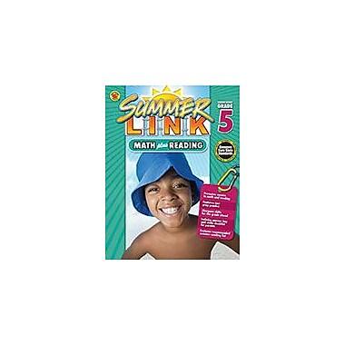Carson-Dellosa Publishing Math Plus Reading, Summer Before Grade 5 Workbook By Brighter Child, Grade 4 - Grade 5 [eBook]