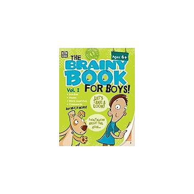 Carson-Dellosa Publishing Brainy Book For Boys, Volume 1, Ages 6+ Workbook, Grade 1 - Grade 4 [eBook]