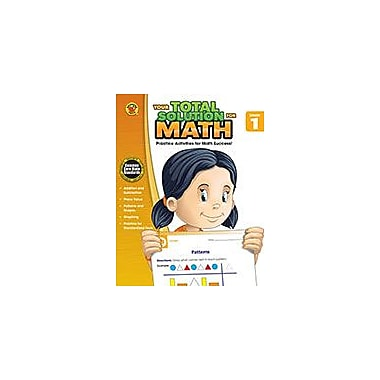 Carson-Dellosa Publishing Your Total Solution For Math, Grade 1 Workbook By Brighter Child, Grade 1 [eBook]
