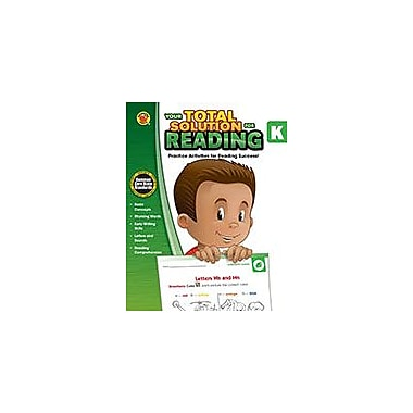 Carson-Dellosa Publishing Your Total Solution For Reading, K Workbook By Brighter Child, Kindergarten [eBook]
