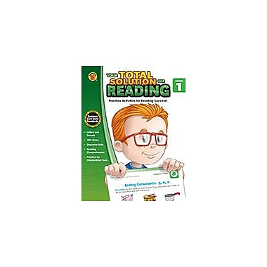 Carson-Dellosa Publishing Your Total Solution For Reading, Grade 1 Workbook By Brighter Child, Grade 1 [eBook]