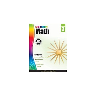 Carson-Dellosa Publishing Spectrum Math, Grade 3 Workbook [eBook]