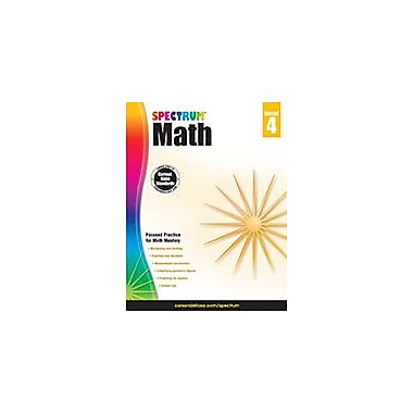 Carson-Dellosa Publishing Spectrum Math, Grade 4 Workbook [eBook]