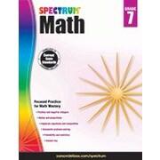 Carson-Dellosa Publishing Spectrum Math, Grade 7 Workbook [eBook]