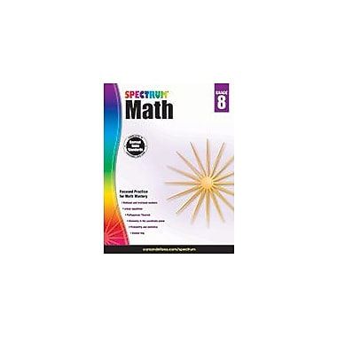 Carson-Dellosa Publishing Spectrum Math, Grade 8 Workbook [eBook]