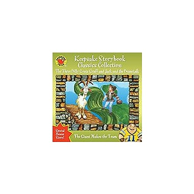 Keepsake Storybook Classics Collection Storybook, The Three Billy Goats Gruff And Jack And The Beanstalk [eBook]