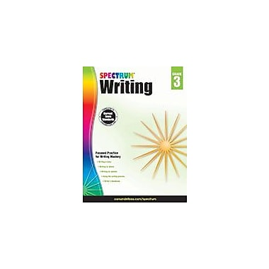 Carson-Dellosa Publishing Spectrum Writing, Grade 3 Workbook [eBook]