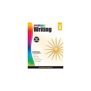 Carson-Dellosa Publishing Spectrum Writing, Grade 4 Workbook [eBook]