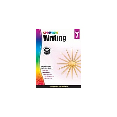 Carson-Dellosa Publishing Spectrum Writing, Grade 7 Workbook [eBook]