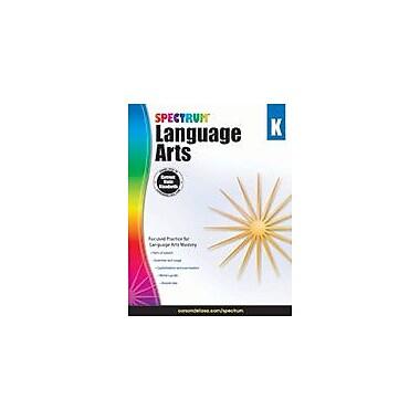 Carson-Dellosa Publishing Spectrum Language Arts, Grade K Workbook, Kindergarten [eBook]