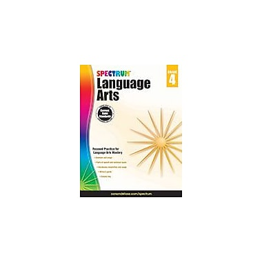 Carson-Dellosa Publishing Spectrum Language Arts, Grade 4 Workbook [eBook]