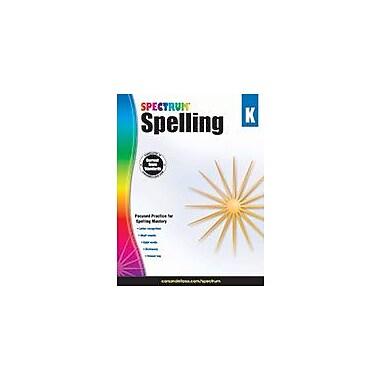 Carson-Dellosa Publishing Spectrum Spelling, K Workbook, Kindergarten [eBook]