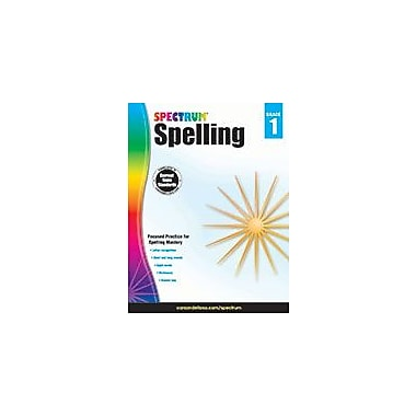 Carson-Dellosa Publishing Spectrum Spelling, Grade 1 Workbook [eBook]