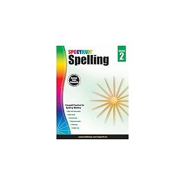 Carson-Dellosa Publishing - Cahier d'activités Spectrum Spelling, 2e année [livre numérique]