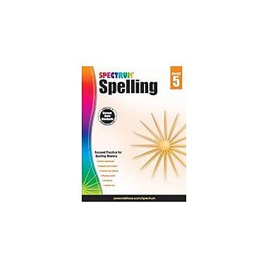 Carson-Dellosa Publishing Spectrum Spelling, Grade 5 Workbook [eBook]