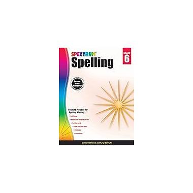 Carson-Dellosa Publishing Spectrum Spelling, Grade 6 Workbook [eBook]
