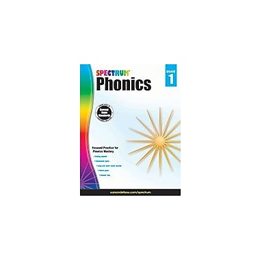 Carson-Dellosa Publishing Spectrum Phonics, Grade 1 Workbook [eBook]