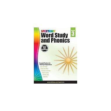 Carson-Dellosa Publishing Spectrum Word Study And Phonics, Grade 3 Workbook [eBook]