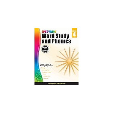 Carson-Dellosa Publishing Spectrum Word Study And Phonics, Grade 4 Workbook [eBook]