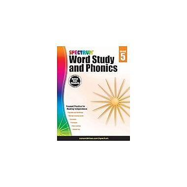 Carson-Dellosa Publishing Spectrum Word Study And Phonics, Grade 5 Workbook [eBook]