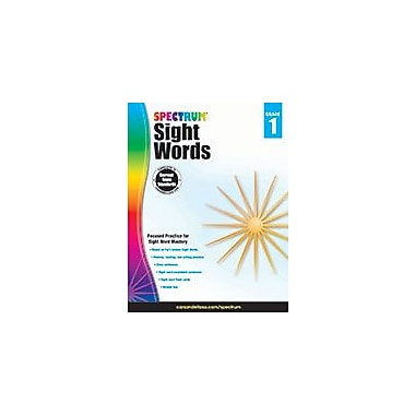 Carson-Dellosa Publishing Spectrum Sight Words, Grade 1 Workbook [eBook]