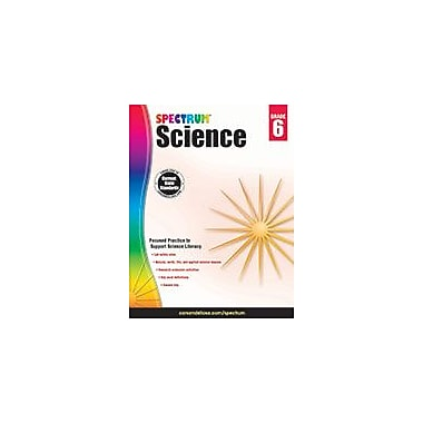 Carson-Dellosa Publishing Spectrum Science, Grade 6 Workbook [eBook]