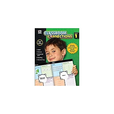Carson-Dellosa Publishing Classroom Connections Grade 1 Workbook By Kids, Thinking, Grade 1 [eBook]