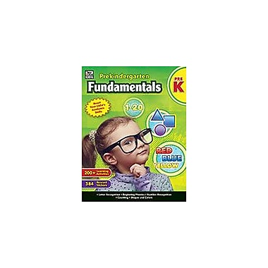 Carson-Dellosa Publishing Prekindergarten Fundamentals, Grade Prek Workbook, Preschool [eBook]