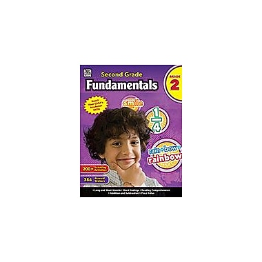 Carson-Dellosa Publishing Second Grade Fundamentals, Grade 2 Workbook [eBook]