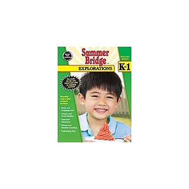 Carson-Dellosa Publishing Summer Bridge Explorations, Grades K 1 Workbook, Kindergarten - Grade 1 [eBook]