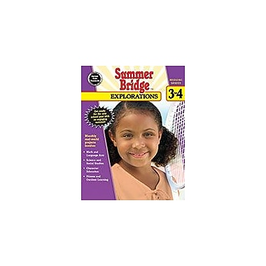 Carson-Dellosa Publishing Summer Bridge Explorations, Grades 3 4 Workbook, Grade 3 - Grade 4 [eBook]