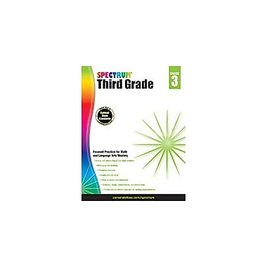Carson-Dellosa Publishing Spectrum Grade 3 Workbook [eBook]