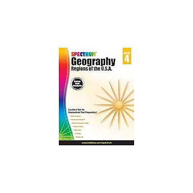 Carson-Dellosa Publishing Spectrum Geography, Grade 4 Workbook [eBook]