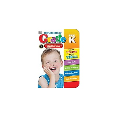 Carson-Dellosa Publishing Complete Book Of Prek, Grade Prek Workbook, Preschool [eBook]