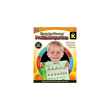 Carson-Dellosa Publishing Everyday Success, Prekindergarten Workbook, Preschool [eBook]