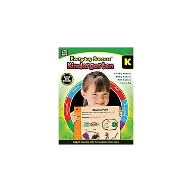Carson-Dellosa Publishing Everyday Success, Kindergarten Workbook, Kindergarten [eBook]